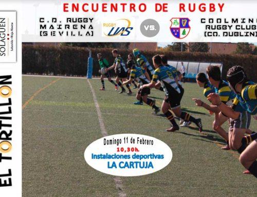 Encuentro internacional Sub18 contra Coolmine RFC