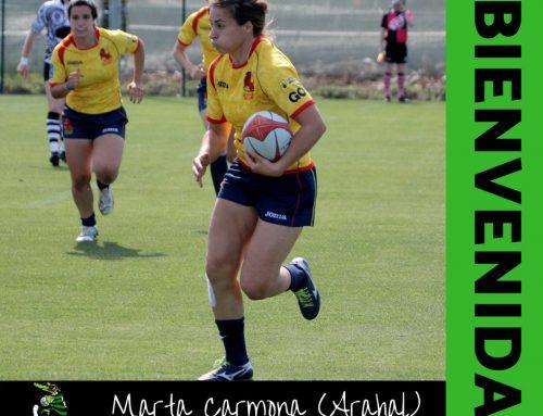 Marta Carmona vuelve al sur para disfrutar del rugby con nuestras Cocodrilas
