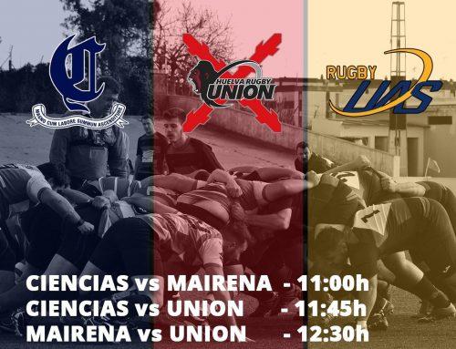 Crónica triangular contra Ciencias B y Unión Huelva. Primeros contactos