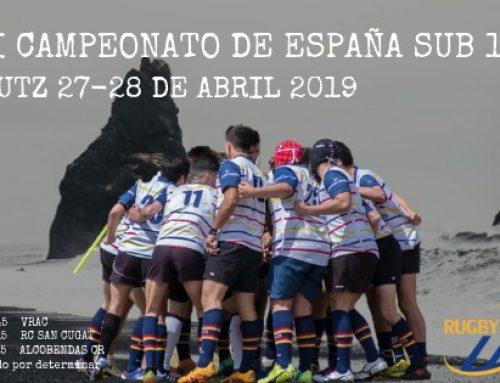 SUB18 camino al campeonato de España