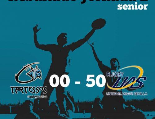 El CD Rugby Mairena se mantiene invicto frente a un gran Tartessos Rugby