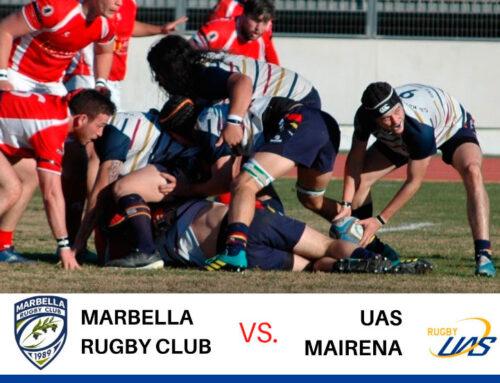 Rama y Juani esperan puntuar en su debut con el CD Rugby Mairena.
